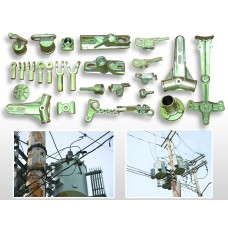 Ductile Iron Cable Accessory Power Line Fittings, Castings